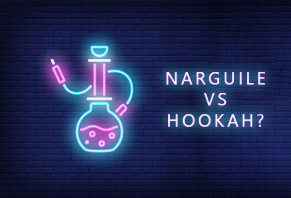 What is the difference between narguile and hookah?