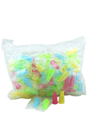 Hookah Mouth Tips Multi Color (Male) 100 pcs