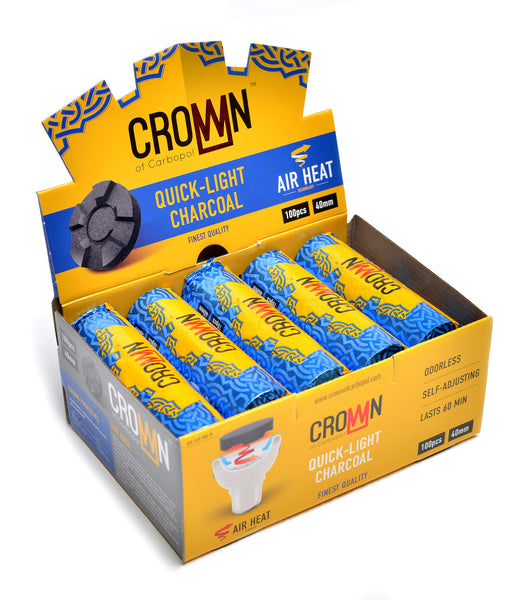 Crown Hookah Charcoal