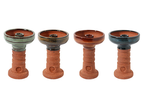HOOKAH JOHN RED CLAY HARMONY BOWL HJ