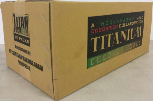 Titanium Coconut Charcoal Lounge Box (10KG)