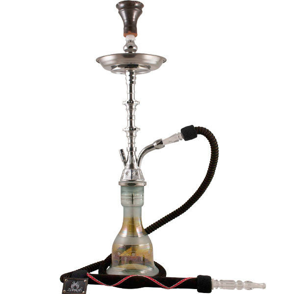 "Egyptian Style 32"" Hookah (Sliver)"
