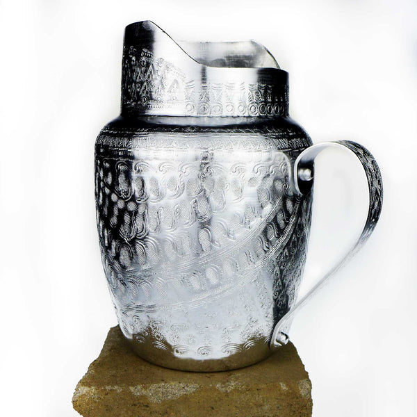 Walu Thai Bohemian Silver Pitcher