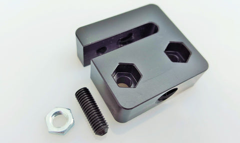 Anti-Backlash Nut Block for 8mm Metric Acme Lead Screw - MakerTechStore - 1