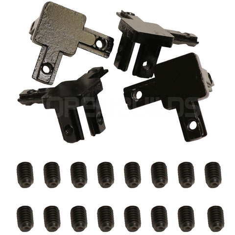 3-Way End Corner Brackets (4 Pack)