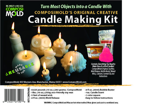 ComposiMold Creative Candle Making Kit - MakerTechStore - 1
