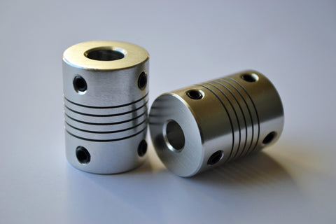 "1/4"" to 8mm Flexible Coupling - MakerTechStore"