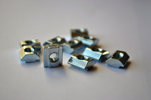 Metric V-Slot / T-Slot Nuts - MakerTechStore - 1