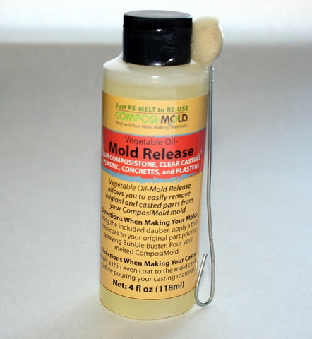 Vegetable Oil Mold Release - MakerTechStore