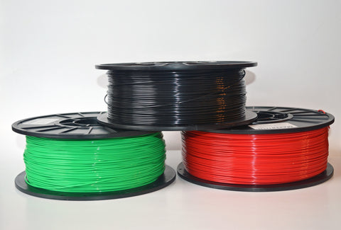 Flexible TPU Filaments - 1Kg (2.2 lbs.) Spool - MakerTechStore - 1