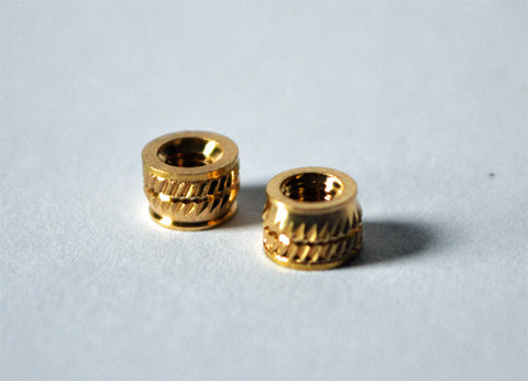 Heat-Set Threaded Inserts (M3 Threads)