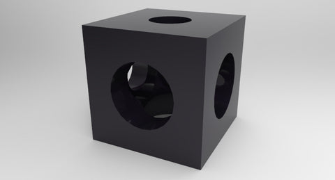 Cube Corner Connector - MakerTechStore - 1