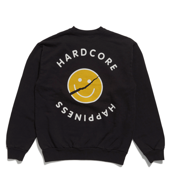 Acid House - Crew Neck - Black