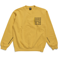 Acid House - Crew Neck - Gold