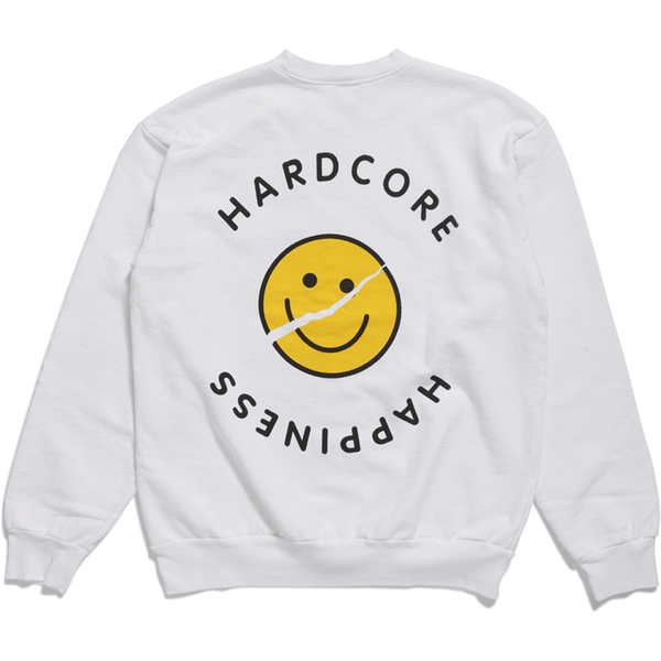 Acid House - Crew Neck - White