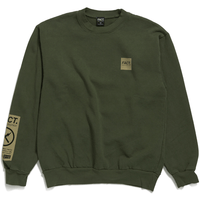Box Logo - Crew Neck - Olive