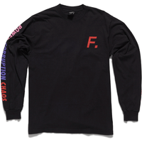 Color Bar - Long Sleeve - Black