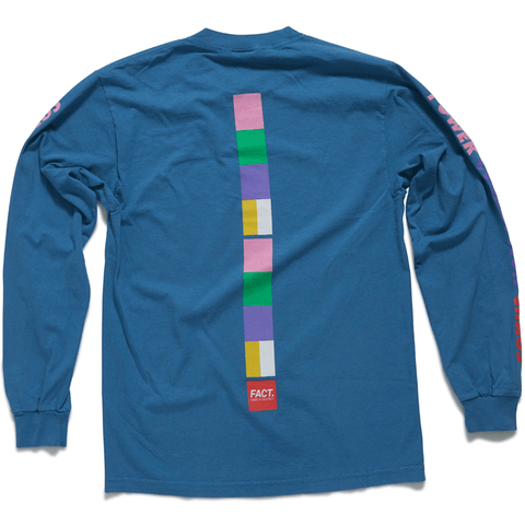 Color Bar - Long Sleeve - Slate