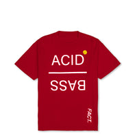 Acid Bass - Short Sleeve - Red