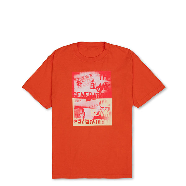 Blank Generation - Short Sleeve - Orange