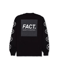 Box Logo -  Long Sleeve - Black/Black