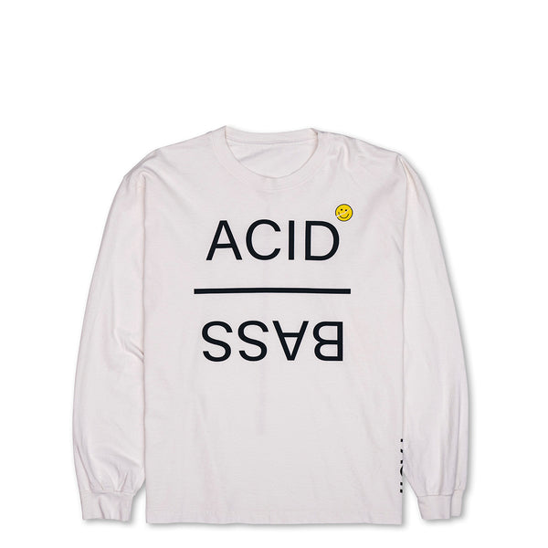 Acid Bass - Long Sleeve - White