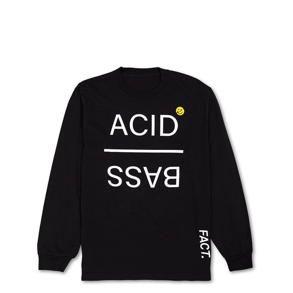 Acid Bass - Long Sleeve - Black