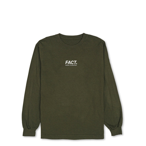 Logotype Small - Long Sleeve - Olive