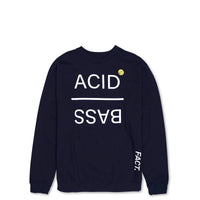 Acid Bass - Crew Neck - Navy