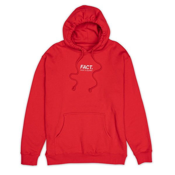 Logotype Small - Hoodie - Red