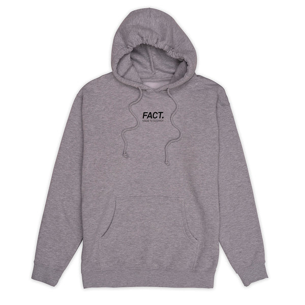 Logotype Small - Hoodie - Grey