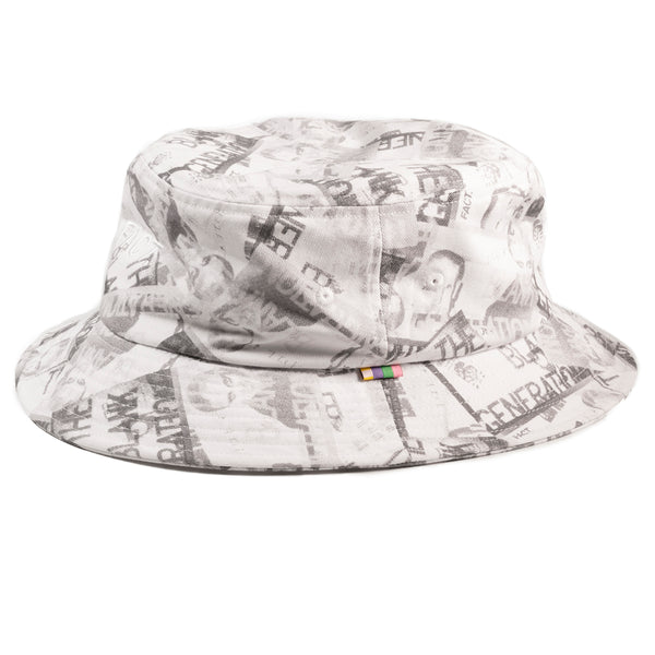 Blank Generation Bucket Hat - Black