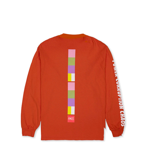 Color Bar - Long Sleeve - Orange