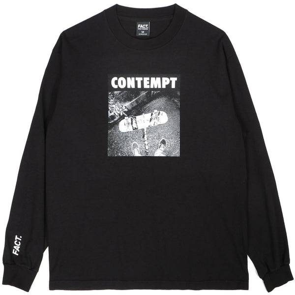 Contempt - Long Sleeve - Black