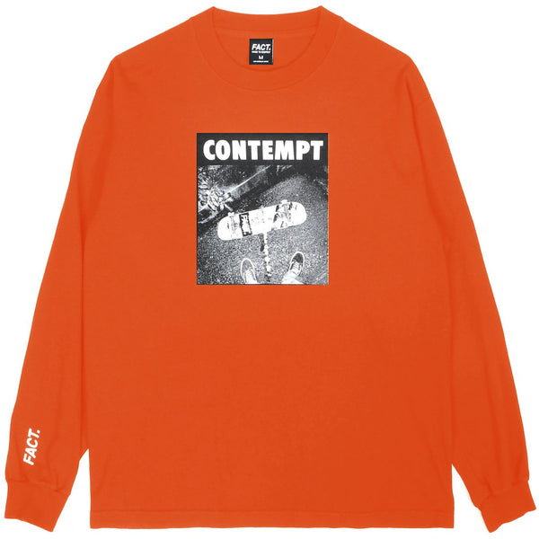 Contempt - Long Sleeve - Orange