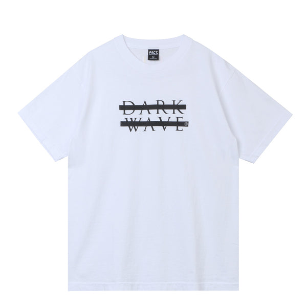 Dark Wave - Short Sleeve - White