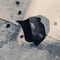 Logotype 6 Panel Hat - Black