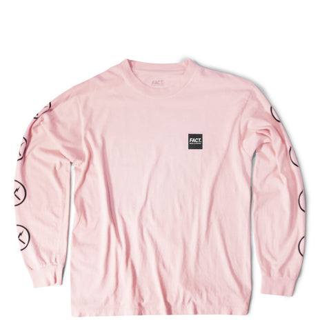 Box Logo - Long Sleeve - Pink