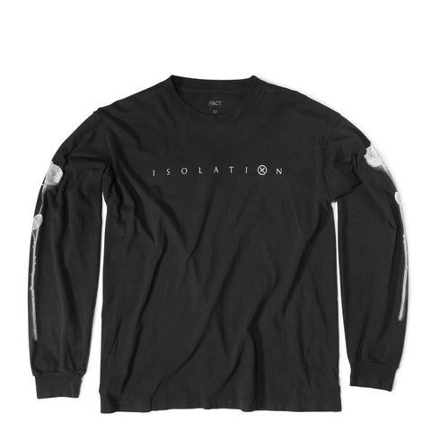 Isolation Faded Black Long Sleeve