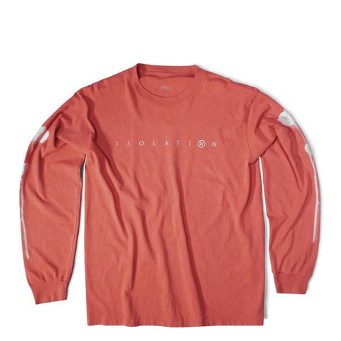 Isolation - Long Sleeve - Red