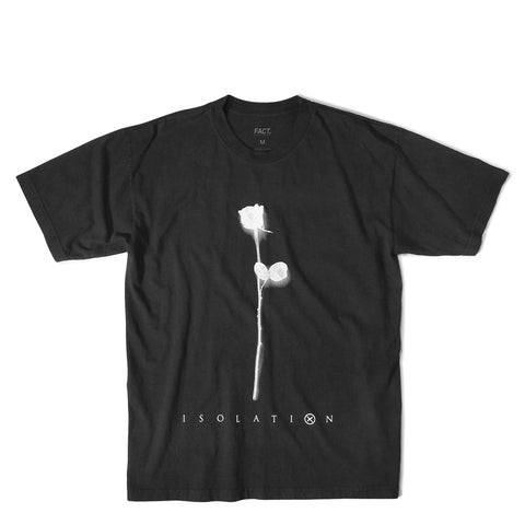 Isolation Faded Black Short Sleeve
