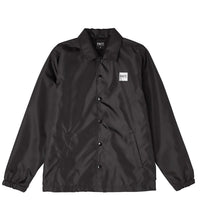 FACT Brand Coach Jacket Black