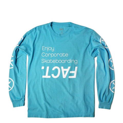 Corpo Skate Sea Blue Long Sleeve