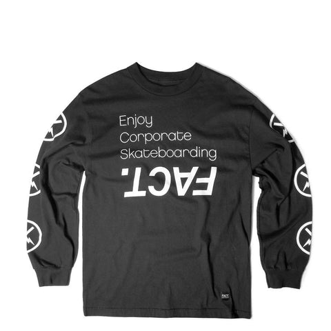 Corpo Skate Black Long Sleeve
