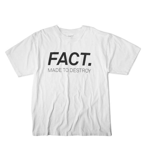 Logotype - Short Sleeve - White/Black