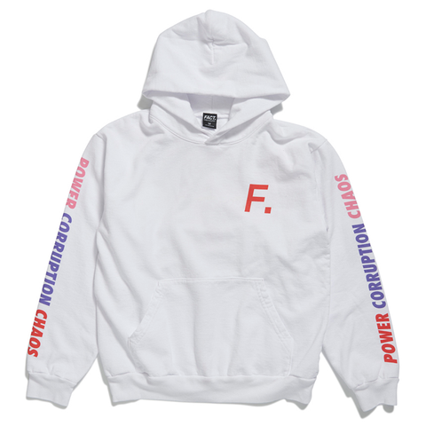 Color Bar - Hoodie - White
