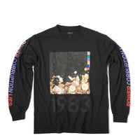 FACT Brand Long Sleeve Corruption Tee Faded Black