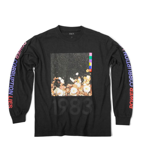 Corruption Faded Black Long Sleeve
