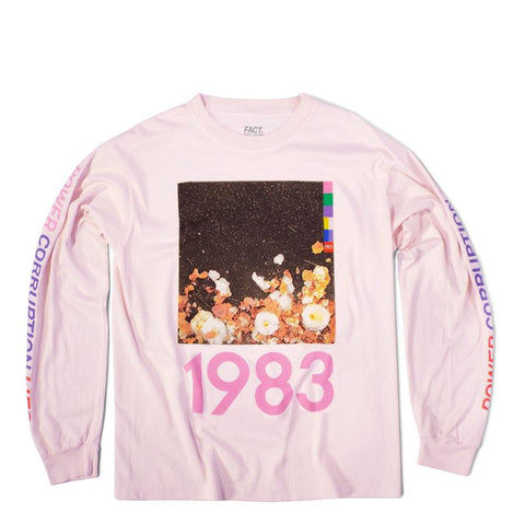 Corruption Light Pink Long Sleeve