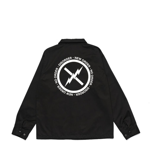Disorder Coach Jacket - Black
